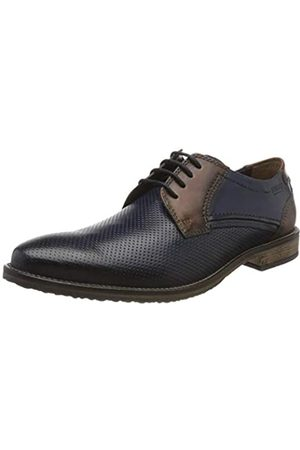 Fretz Men Grenoble, Zapatos de Cordones Derby para Hombre, (Navy Blue 60)