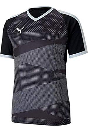 Puma Teamfinal Indoor Jersey Camiseta, Hombre, Black White