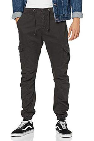 Urban classics Cargo Jogging Pants, Pantalones para Hombre, (Black 7)