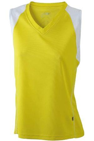James & Nicholson Ladies' Running Tank - Camiseta Transpirable sin Mangas de Running para Mujer, Color /