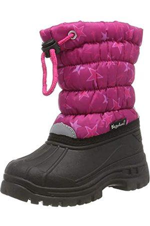 Playshoes Zapatos de Invierno Estrellas, Botas de Nieve para Niñas, (Pink 18)