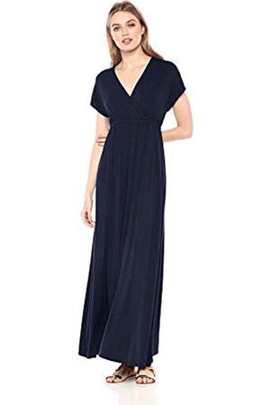 Amazon Vestido maxi de sobrepelliz para mujer