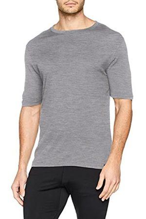 Odlo SUW Top Crew Neck S/S Natural 100% Merino cálido Unterhemd, Primavera/Verano, Hombre
