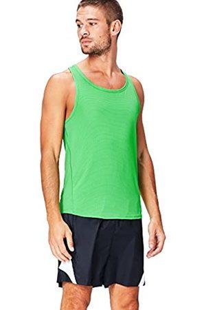 Activewear Mesh Camiseta Deportiva para Hombre, (Apple Green)