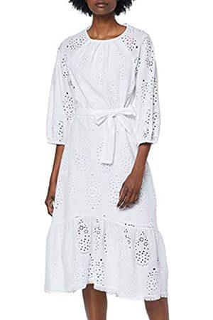 FIND Mujer Vestido Midi de Algodón