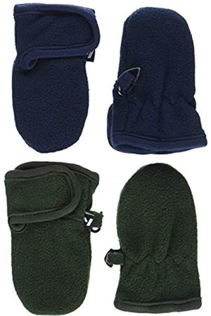 Name it Nbmmar Fleece 2p Mitten Fo, Guantes Niños, (Forest Night Pack:Pack As 2 Pack W. Forest & Sky Captain)