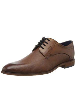 Bugatti 311752051100, Zapatos de Cordones Derby para Hombre, (Cognac 6300)