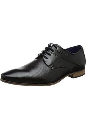 Bugatti 312420031000, Zapatos de Cordones Derby para Hombre, (Schwarz)