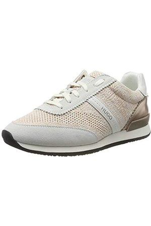 HUGO BOSS Adrienne-kn, Zapatillas para Mujer, (White 100)