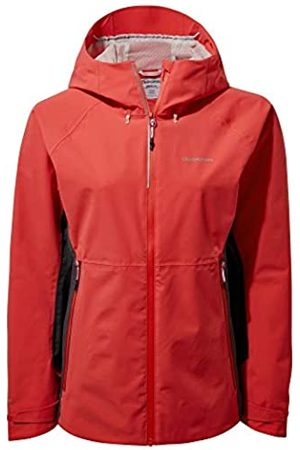 Craghoppers Haidon Rio Red 10 - Chaqueta Impermeable para Mujer