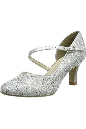 So Danca Bl504, Zapatillas de Baila Moderno y Jazz Mujer, (Silver Sparkle)