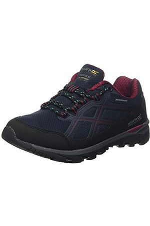Regatta Kota Low II' Waterproof Hiking Boots, Zapatillas de Senderismo para Mujer, (Navy/Beetroot S97)