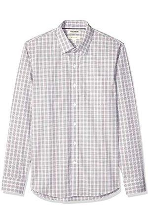 Goodthreads Marca Amazon - - Camisa cómoda de popelín elástico con manga larga, corte entallado, y de cuidado fácil, para hombre