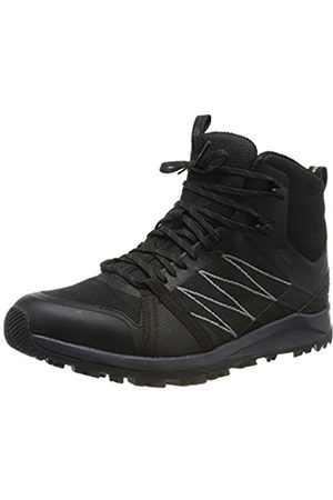 The North Face M LW Fp II Mid GTX, Botas de Senderismo para Hombre, (TNF Black/Ebony Grey Ca0)