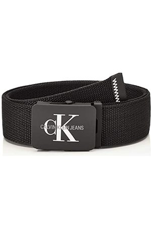 Calvin Klein J 4cm Adj.Monogram Canvas Belt Cinturón