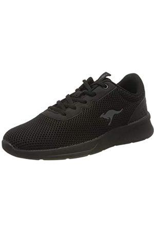 KangaROOS Kf-a Deal, Zapatillas para Mujer, (Jet Black/Mono 5500)