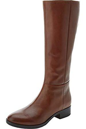 donde quiera cantidad Ponte de pie en su lugar  Botas altas de color marrón para mujer | FASHIOLA.es