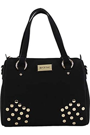 For Time Bolso grande tipo bowling Ante para Mujer