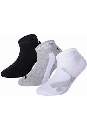 Puma 204202001 - Calcetines cortos para niños, conjunto de 3, multicolor