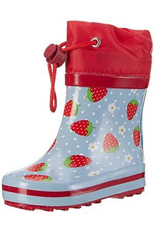 Beck Niña Botas de agua - Erdbeere, Botas de Agua para Niñas, (Hellblau 04)