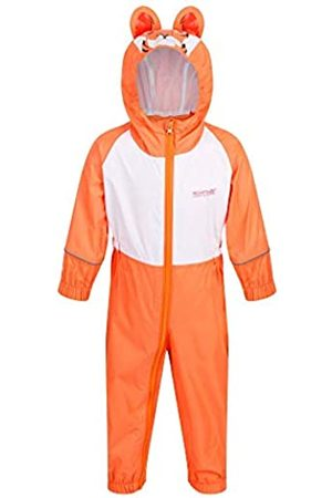 Regatta Charco Waterproof and Breathable Lightweight Animal Design All-In-One Traje Impermeable, Infantil