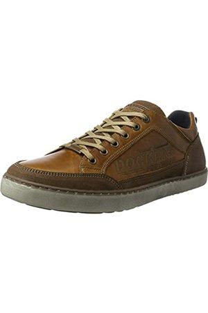 Dockers Hombre Zapatillas deportivas - 41la002, Zapatillas para Hombre, (Cognac 470)