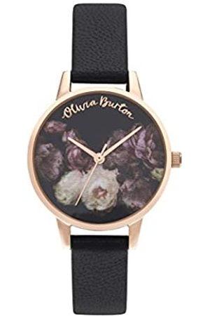 Olivia Burton Reloj Analógico para Mujer de Cuarzo con Correa en Cuero OB16WG68