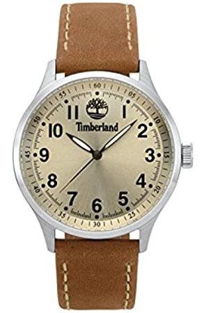 Timberland Reloj Analógico para Hombre de Cuarzo con Correa en Cuero TBL15353JS.07