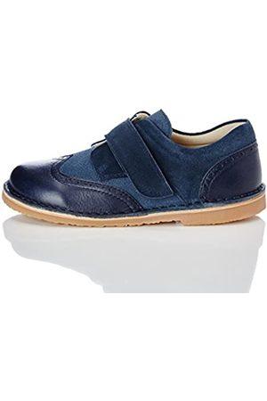 RED WAGON Zapato con Calados y Tira de Velcro para Niño, (Blue)