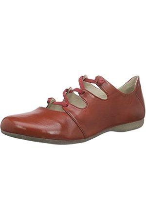 Josef Seibel Fiona 04 - Zapatos cerrados con cordón en zig-zag para Mujer , - Rot (rubin)