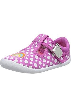 Clarks Roamer Sun T, Zapatillas para Niñas, (Hot Pink Hot Pink)