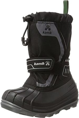 Kamik Snowcoast4, Botas de Nieve Unisex Niños, (Black-Noir Blk)