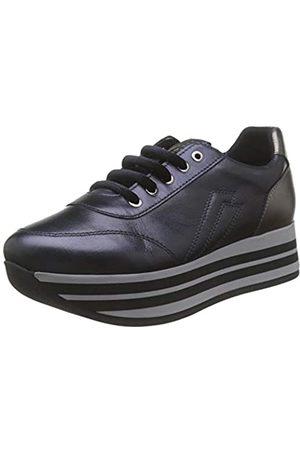 Frau Sneakers, Zapatillas de Gimnasia para Mujer, Navy