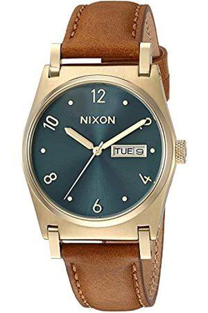 Nixon Reloj Analógico para Mujer de Cuarzo con Correa en Cuero A9552626