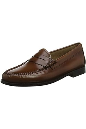 G.H. Bass Penny, Mocasines para Mujer, (Cognac Leather 0cg)