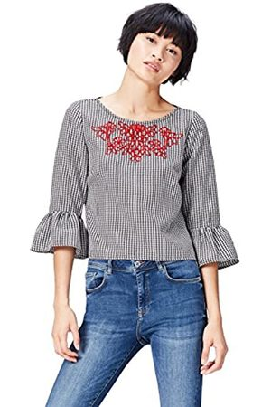 FIND Gingham Embroidered Sudadera para Mujer