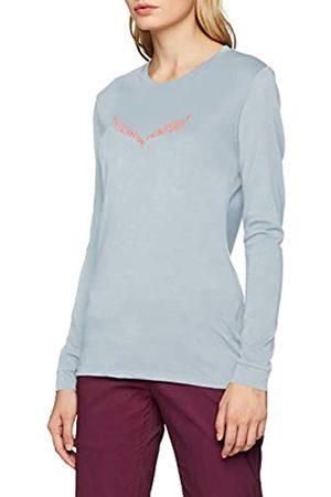 Salewa Solid Logo Dry W L/S tee, Camiseta de Manga Larga para Mujer, Mujer, 00-0000027341