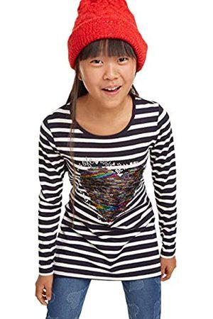 Desigual T-Shirt Cross Camiseta de Manga Larga