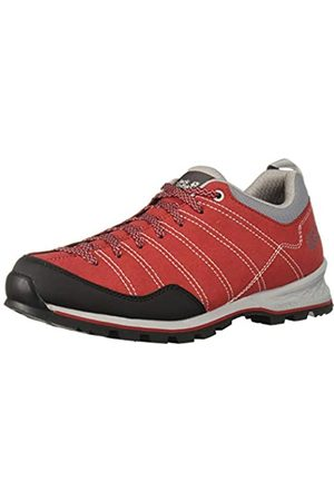 Jack Wolfskin Scrambler M, Zapatos de Low Rise Senderismo para Hombre, Red/Light Grey 2106