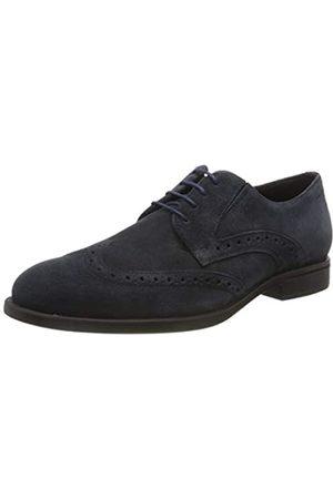 Geox U Domenico D, Zapatos de Cordones Brogue para Hombre, (Navy C4002)