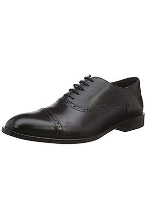 Geox U Saymore A, Zapatos de Cordones Oxford para Hombre, (Black C9999)