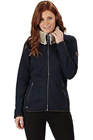Regatta Talya Full-Zip Luxury Fur Collar Leatherette Trim Quilted Fleece Forro Polar, Mujer