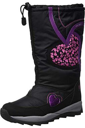 Geox J Orizont B Girl ABX A, Botas de Nieve para Niñas, (Black C9999)