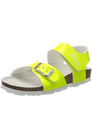 s.Oliver 5-5-38507-24, Sandalia con Pulsera para Niñas, (Neon Yellow 699)