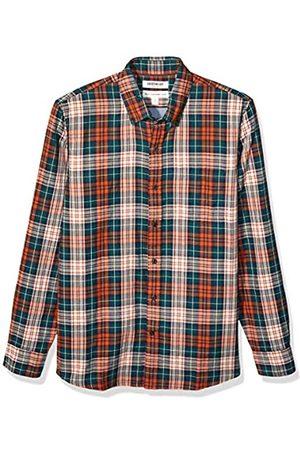 Goodthreads – Camisa reversible de manga larga y corte estándar para hombre