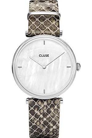 Cluse Reloj analógico para Mujeres de Cuarzo con Correa en Piel CL61009