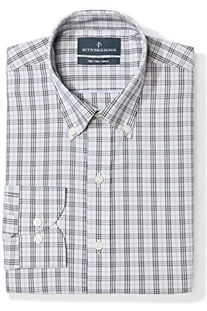 Buttoned Down Slim Fit Button Collar Pattern Camisa