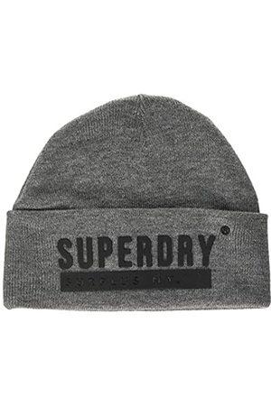 Superdry Surplus Silicone Beanie Gorro de Punto