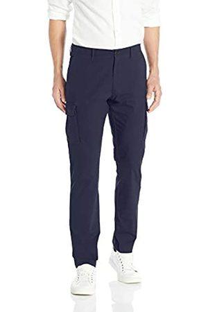 Goodthreads Marca Amazon - - Pantalones cargo ajustados y cómodos para caballero, elásticos, antidesgarros.