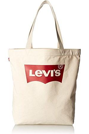 Levi's LEVIS FOOTWEAR AND ACCESSORIESBatwing Tote WMujerBolsos totesBeige (Écru) 39x14x30 centimeters (W x H x L)